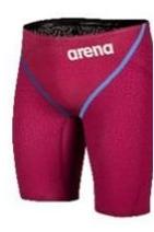Arena Powerskin Glide Rasberry Red, Jammer, Art. 003665